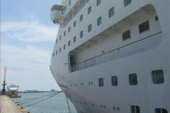 2019 June 28 to 05 July P&O MV Oriana France, Spain and Guernsey. (15) Poole to Southampton. 015