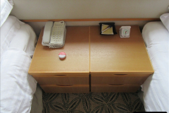 2019 June 28 to 05 July P&O MV Oriana France, Spain and Guernsey. (18) Our cabin. 018