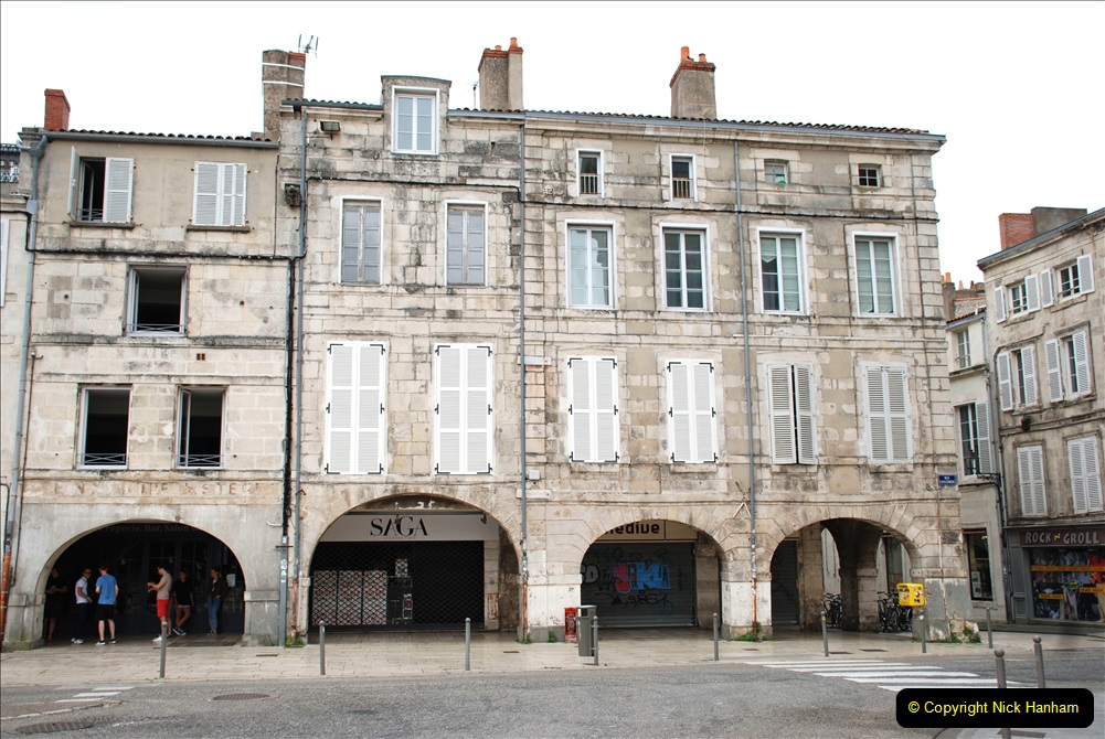 2019 June 28 to 05 July P&O MV Oriana France, Spain and Guernsey. (123) La Rochelle, France. 123