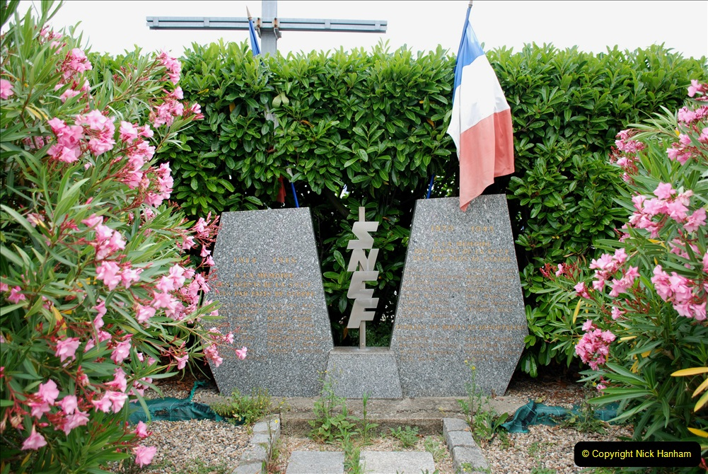 2019 June 28 to 05 July P&O MV Oriana France, Spain and Guernsey. (147) La Rochelle, France. SNCF War Memorial to railwaymen. 147