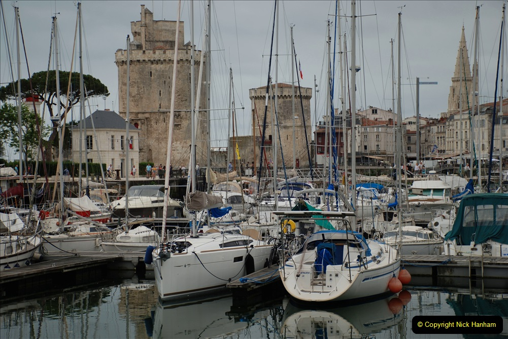 2019 June 28 to 05 July P&O MV Oriana France, Spain and Guernsey. (38) La Rochelle, France. 038