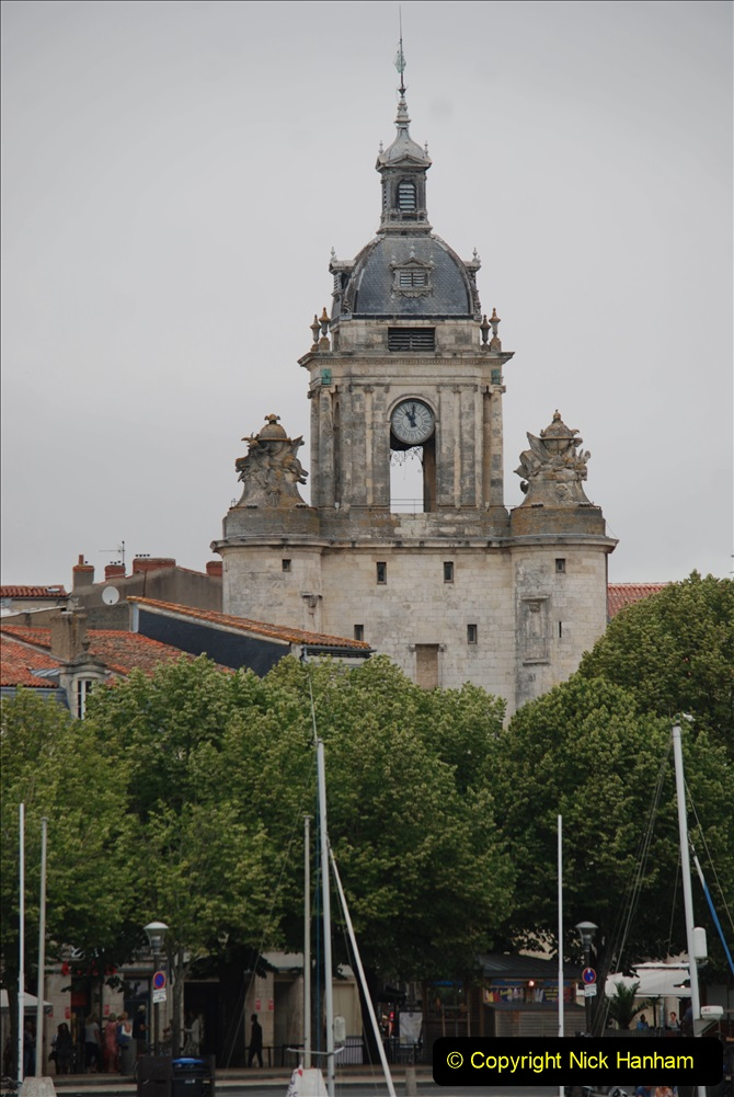 2019 June 28 to 05 July P&O MV Oriana France, Spain and Guernsey. (47) La Rochelle, France. 047