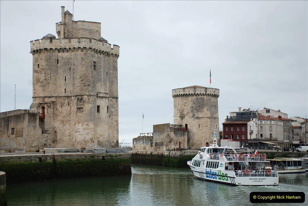 2019 June 28 to 05 July P&O MV Oriana France, Spain and Guernsey. (55) La Rochelle, France. 055