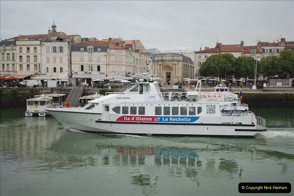 2019 June 28 to 05 July P&O MV Oriana France, Spain and Guernsey. (61) La Rochelle, France. 061