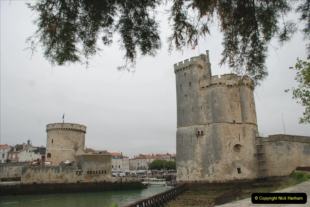2019 June 28 to 05 July P&O MV Oriana France, Spain and Guernsey. (65) La Rochelle, France. 065