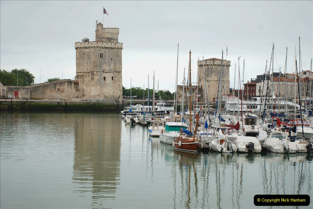 2019 June 28 to 05 July P&O MV Oriana France, Spain and Guernsey. (79) La Rochelle, France. 079