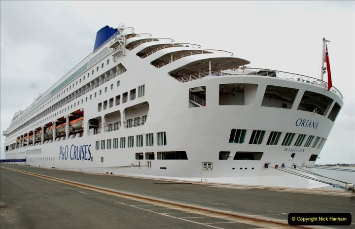 2019 June 28 to 05 July P&O MV Oriana France, Spain and Guernsey. (174) La Rochelle, France. Returning to our ship. 174