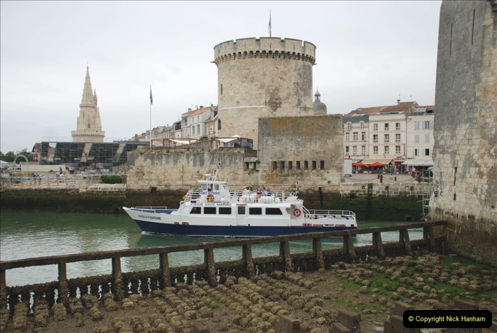 2019 June 28 to 05 July P&O MV Oriana France, Spain and Guernsey. (62) La Rochelle, France. 062
