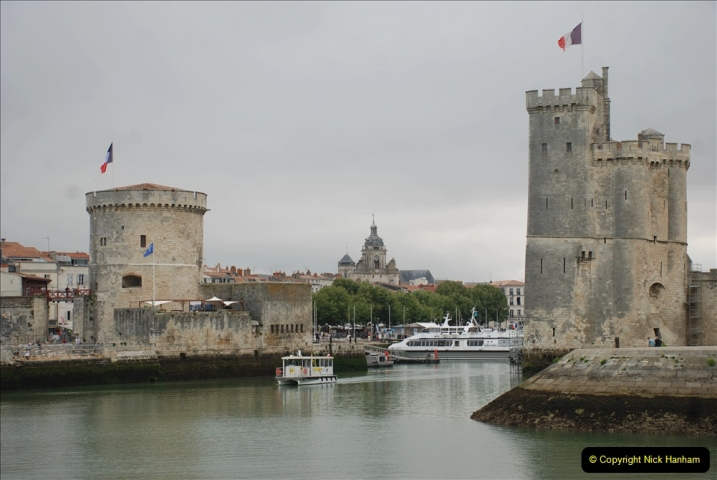 2019 June 28 to 05 July P&O MV Oriana France, Spain and Guernsey. (71) La Rochelle, France. 071