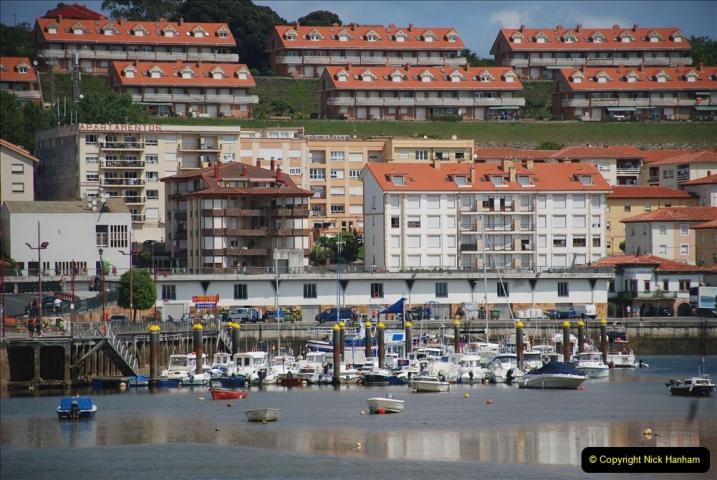 2019 June 28 to 05 July P&O MV Oriana France, Spain and Guernsey. (107) Santander, Spain. San Vincente. 107