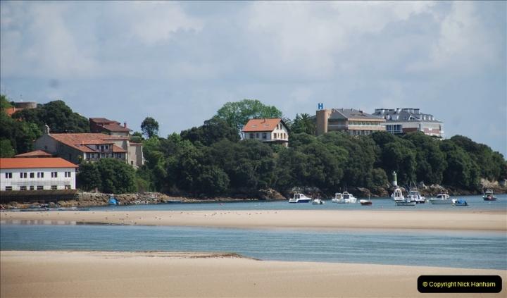 2019 June 28 to 05 July P&O MV Oriana France, Spain and Guernsey. (108) Santander, Spain. San Vincente. 108