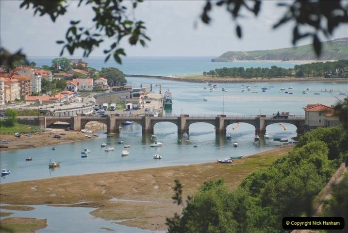 2019 June 28 to 05 July P&O MV Oriana France, Spain and Guernsey. (143) Santander, Spain. San Vincente. 143