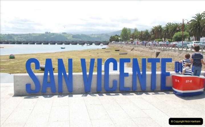 2019 June 28 to 05 July P&O MV Oriana France, Spain and Guernsey. (151) Santander, Spain. San Vincente. 151
