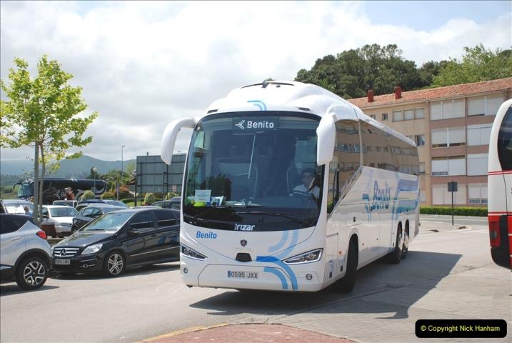 2019 June 28 to 05 July P&O MV Oriana France, Spain and Guernsey. (162) Santander, Spain. San Vincente. 162