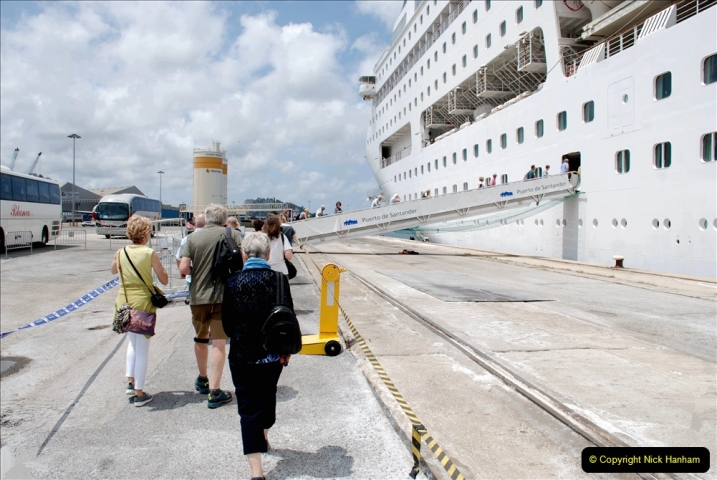 2019 June 28 to 05 July P&O MV Oriana France, Spain and Guernsey. (177) Santander, Spain. 177