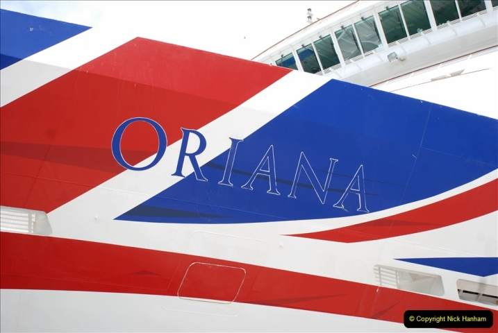 2019 June 28 to 05 July P&O MV Oriana France, Spain and Guernsey. (180) Santander, Spain. 180