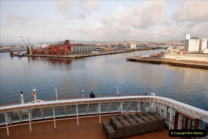 2019 June 28 to 05 July P&O MV Oriana France, Spain and Guernsey. (19) Santander, Spain. 019
