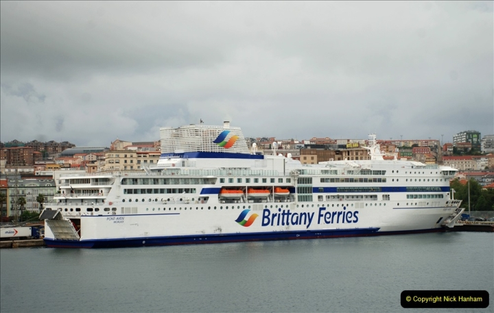 2019 June 28 to 05 July P&O MV Oriana France, Spain and Guernsey. (191) Santander, Spain. On our way to Ferrol. 191