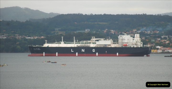 2019 June 28 to 05 July P&P MV Orian France, Spain and Guernsey. (16) Ferrol, Spain. 016