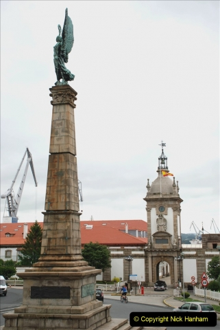 2019 June 28 to 05 July P&P MV Orian France, Spain and Guernsey. (177) Ferrol, Spain. 177