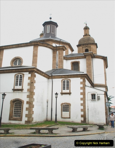 2019 June 28 to 05 July P&P MV Orian France, Spain and Guernsey. (178) Ferrol, Spain. The Cathedral. 178