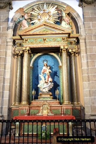 2019 June 28 to 05 July P&P MV Orian France, Spain and Guernsey. (179) Ferrol, Spain. The Cathedral. 179