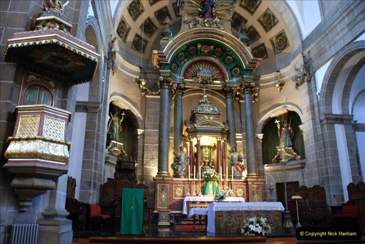 2019 June 28 to 05 July P&P MV Orian France, Spain and Guernsey. (180) Ferrol, Spain. The Cathedral. 180
