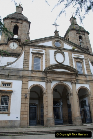 2019 June 28 to 05 July P&P MV Orian France, Spain and Guernsey. (184) Ferrol, Spain. The Cathedral. 184