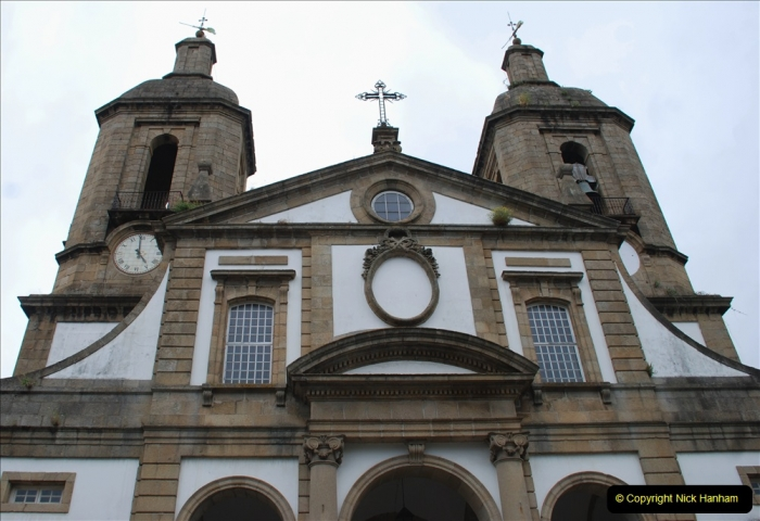2019 June 28 to 05 July P&P MV Orian France, Spain and Guernsey. (185) Ferrol, Spain. The Cathedral. 185