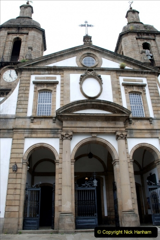 2019 June 28 to 05 July P&P MV Orian France, Spain and Guernsey. (186) Ferrol, Spain. The Cathedral. 186