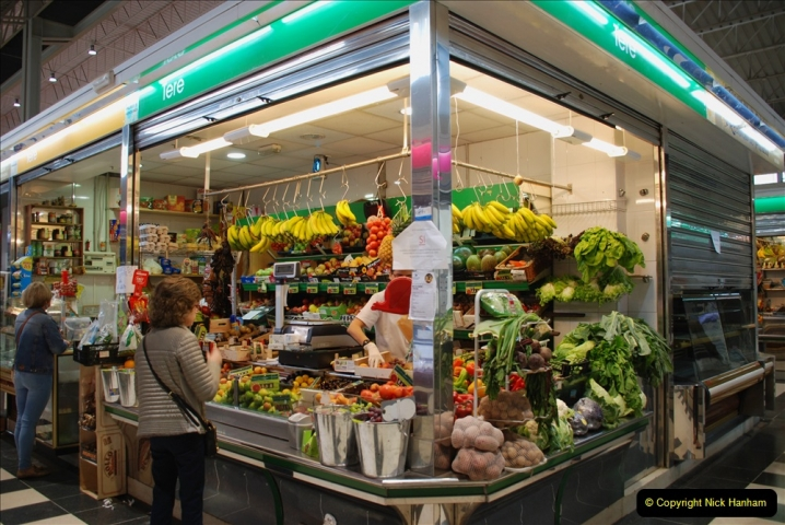 2019 June 28 to 05 July P&P MV Orian France, Spain and Guernsey. (189) Ferrol, Spain. Market and meat market. 189