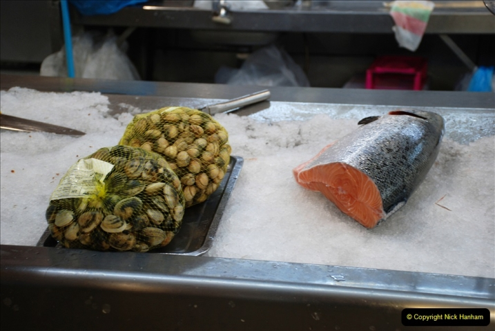 2019 June 28 to 05 July P&P MV Orian France, Spain and Guernsey. (212) Ferrol, Spain. The fish market. 212