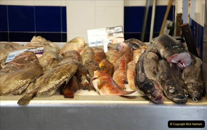 2019 June 28 to 05 July P&P MV Orian France, Spain and Guernsey. (214) Ferrol, Spain. The fish market. 214