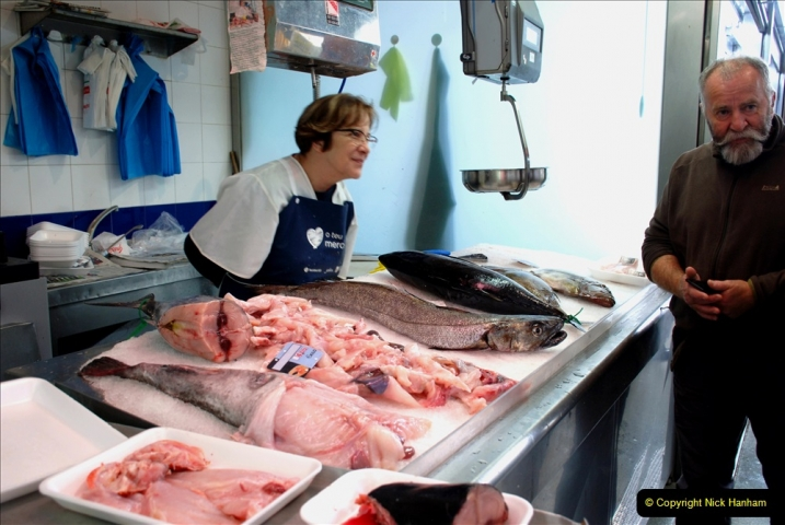 2019 June 28 to 05 July P&P MV Orian France, Spain and Guernsey. (225) Ferrol, Spain. The fish market. 225