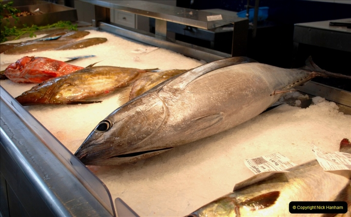2019 June 28 to 05 July P&P MV Orian France, Spain and Guernsey. (230) Ferrol, Spain. The fish market. 230