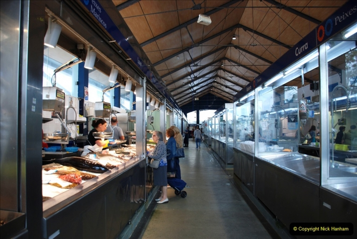 2019 June 28 to 05 July P&P MV Orian France, Spain and Guernsey. (232) Ferrol, Spain. The fish market. 232