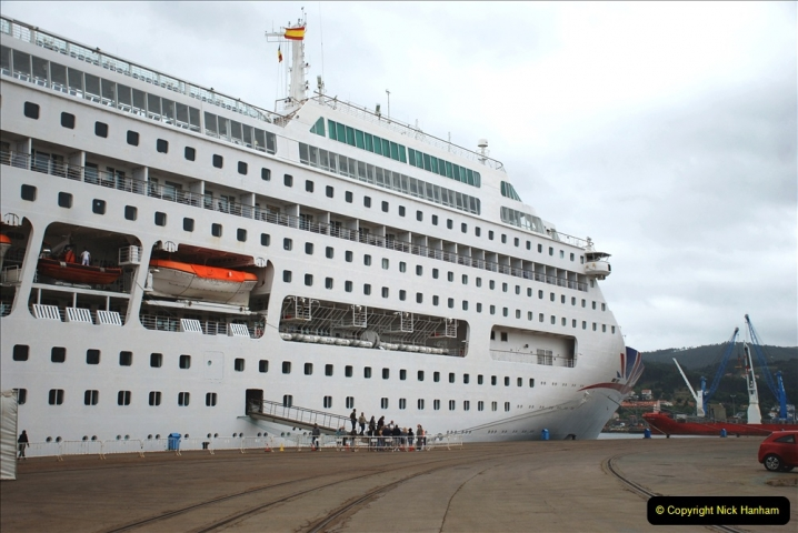 2019 June 28 to 05 July P&P MV Orian France, Spain and Guernsey. (260) Ferrol, Spain. Back to our ship. 260