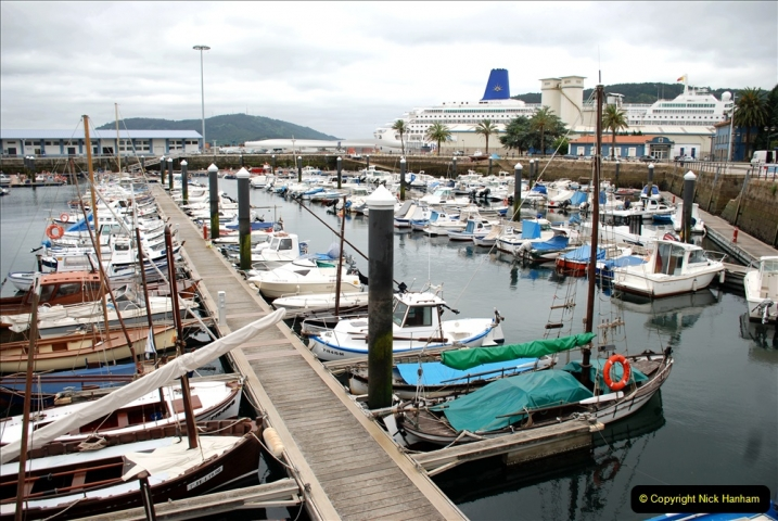2019 June 28 to 05 July P&P MV Orian France, Spain and Guernsey. (38) Ferrol, Spain. 038