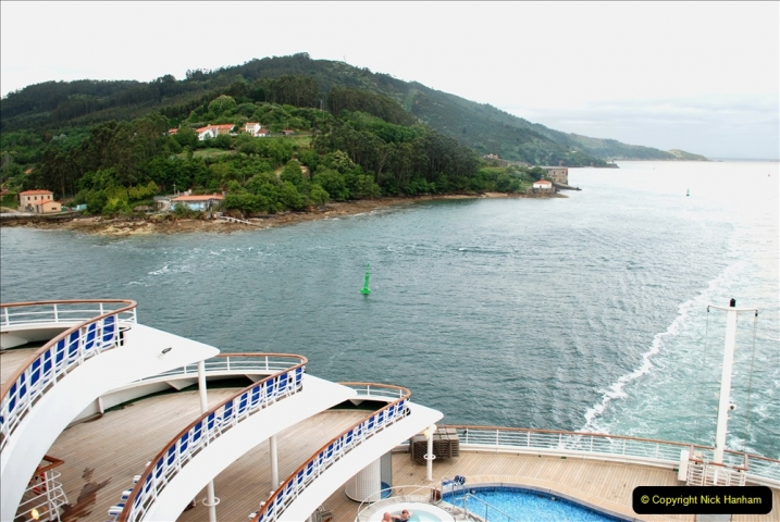 2019 June 28 to 05 July P&P MV Orian France, Spain and Guernsey. (7) Ferrol, Spain. 007