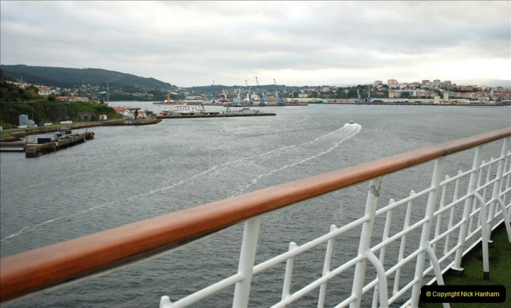 2019 June 28 to 05 July P&P MV Orian France, Spain and Guernsey. (8) Ferrol, Spain. 008