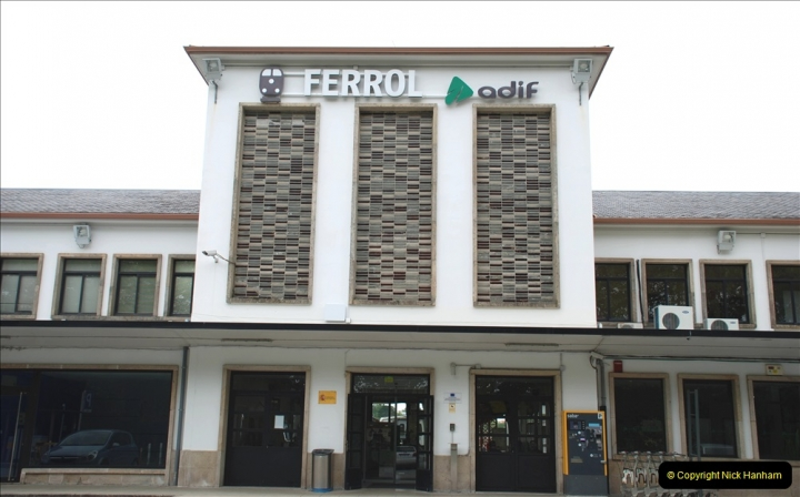 2019 June 28 to 05 July P&P MV Orian France, Spain and Guernsey. (99) Ferrol, Spain. 099
