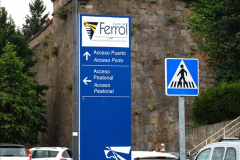 2019 June 28 to 05 July P&P MV Orian France, Spain and Guernsey. (35) Ferrol, Spain. A short walk into town. 035
