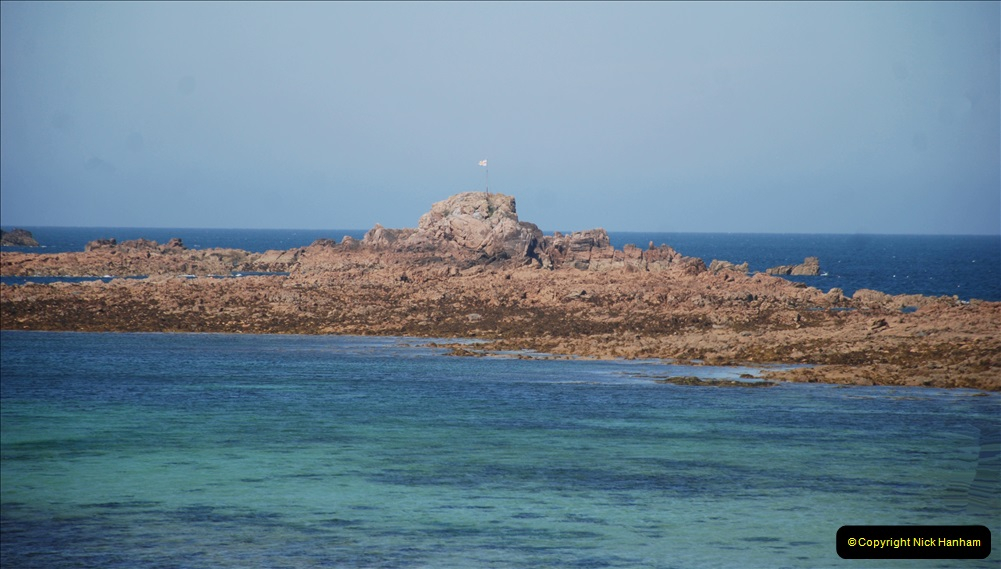 2019 June 28 to 05 July P&O MV Oriana France, Spain and Guernsey. (77) Guernsey CI. Round the island costal bus ride. 077