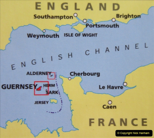 2019 June 28 to 05 July P&O MV Oriana France, Spain and Guernsey. (1) Guernsey CI. 001
