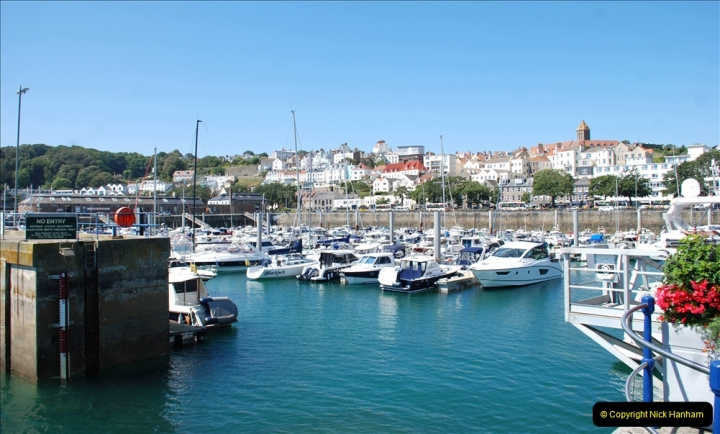 2019 June 28 to 05 July P&O MV Oriana France, Spain and Guernsey. (27) Guernsey CI. 027