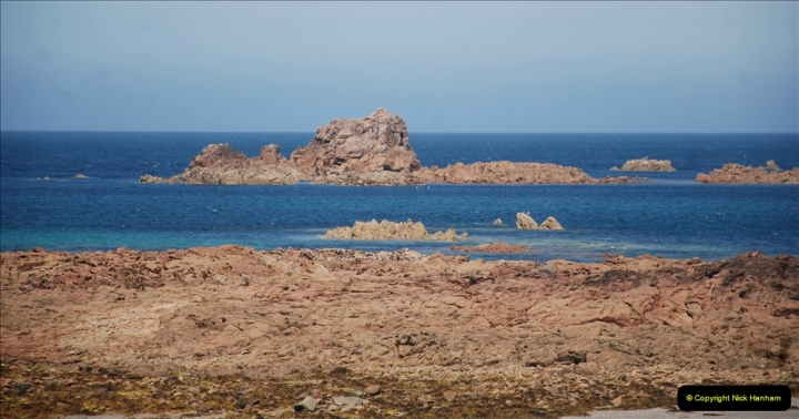 2019 June 28 to 05 July P&O MV Oriana France, Spain and Guernsey. (76) Guernsey CI. Round the island costal bus ride. 076