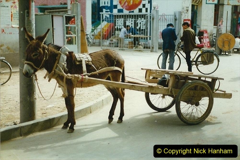 Pakistan and China 1996 June. (129) Zhongwei with replica of Tienanmen Square. 127