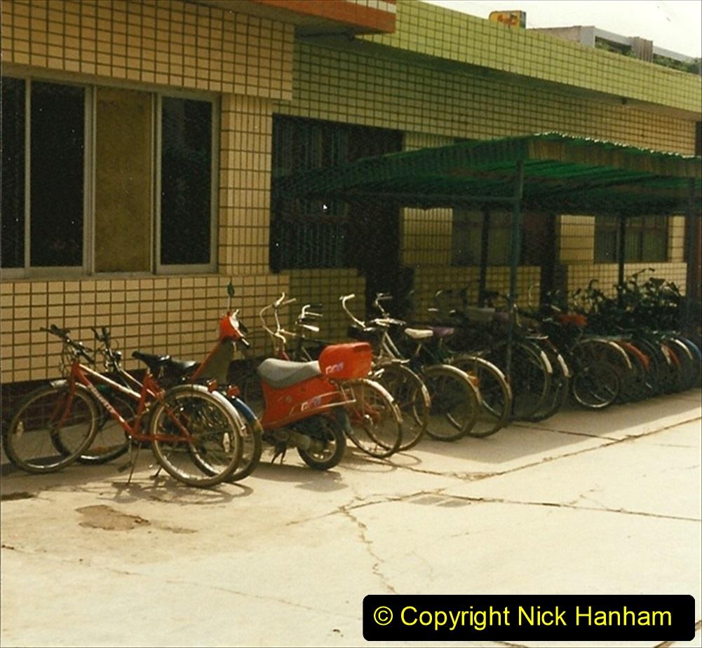 Pakistan and China 1996 June. (13) Zhongwei China Rail Depot. 013