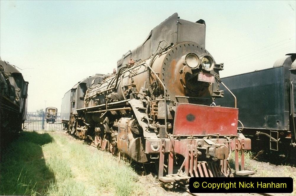 Pakistan and China 1996 June. (167) Baotou China Rail Depot. The Depot Museum. 167