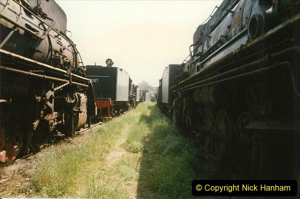 Pakistan and China 1996 June. (171) Baotou China Rail Depot. The Depot Museum. 171